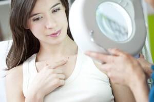 Dermatologist consultation